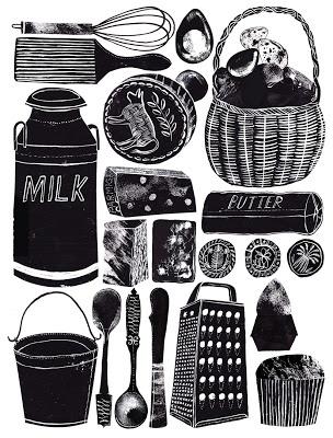 Alice Pattullo: Food Illustrations