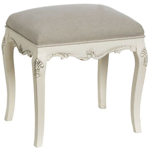 Country Dressing Table Stool | House of Ducentis | House Of Ducentis