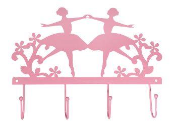 Dit leuke roze kapstokje neemt muurmetstijl ook mee naar de Bonte wintermarkt.