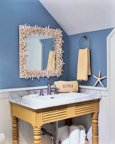 Baño marino   #baños #bathroom