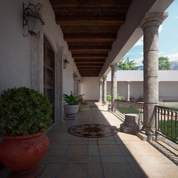 Hacienda/ Render exterior. #render #render_contest #cgartistlab #instarender #3drender #renderbox #archilovers #architectureporn #architecture #design #sun #vray #3ds #3dsmax #3dsmaxdesign #photo #photography #virtualreality #hacienda #mexican #escena #rustic #cglife by juve3dstudio - Shop VR at VirtualRealityDen.com