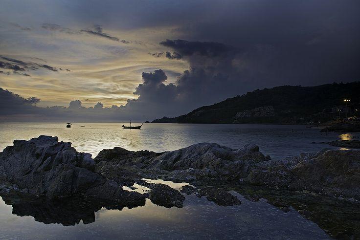 Kalim Beach Thailand Sunset