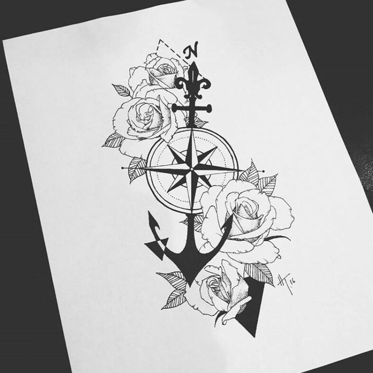 Sternum: love the anchor and compass