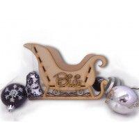 personalised Santa Sleigh Box