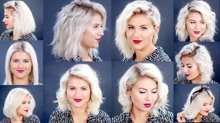 10 Easy Short Hairstyles With Straightener Milabu Hair