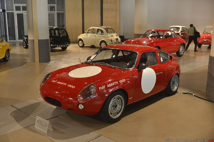 1963 Fiat Abarth 1000 Coup Bialbero 129 0555
