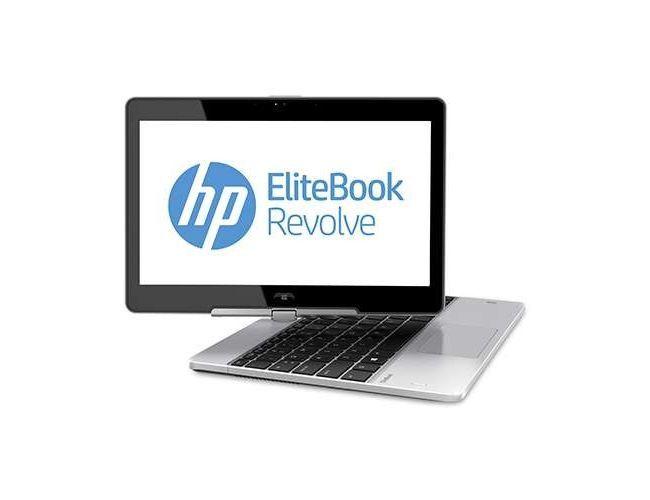 HP EliteBook Revolve 810 G1 Business Tablet (Part # E1E64US#ABA) - Intel core i5, 4GB RAM,128GB SSD, GigaBit Ethernet, Wireless+BlueTooth, Trusted Platform Module (TPM), 11.6-inch HD TouchScreen, Windows 7 Pro