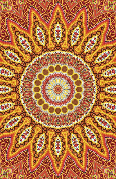 To Some People, Mandalas Represent the 'Fountain-of-Ever-lasting-and-Ever-expanding-Love'