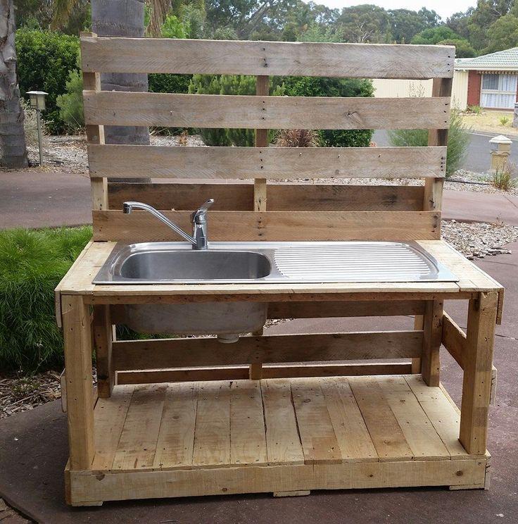 Pallet Furniture Outdoor Pool