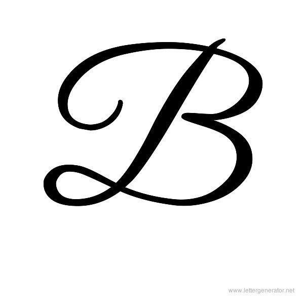 Fancy Script Tattoo Generator: Cursive Letters Fancy