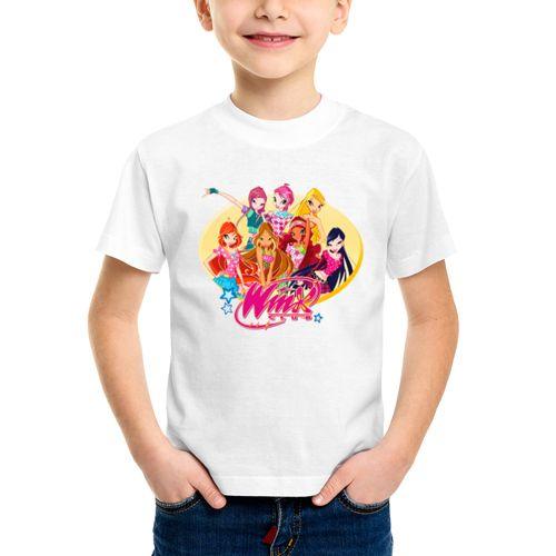 Детская футболка Подруги WinX