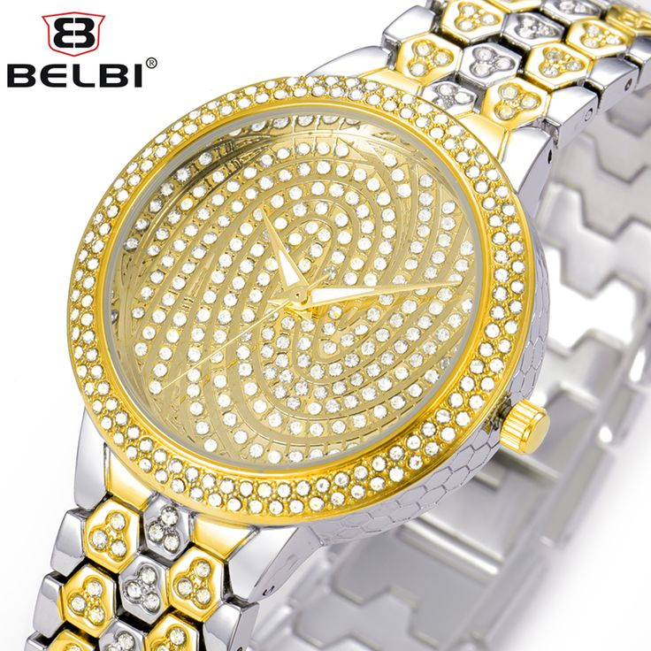 Top Luxury Women Watches BELBI Brand Wristwatch Waterproof Quartz battery Alloy Gold or Silver Fashion Business China Watch 2016-in Women's Watches from Watches on Aliexpress.com | Alibaba Group