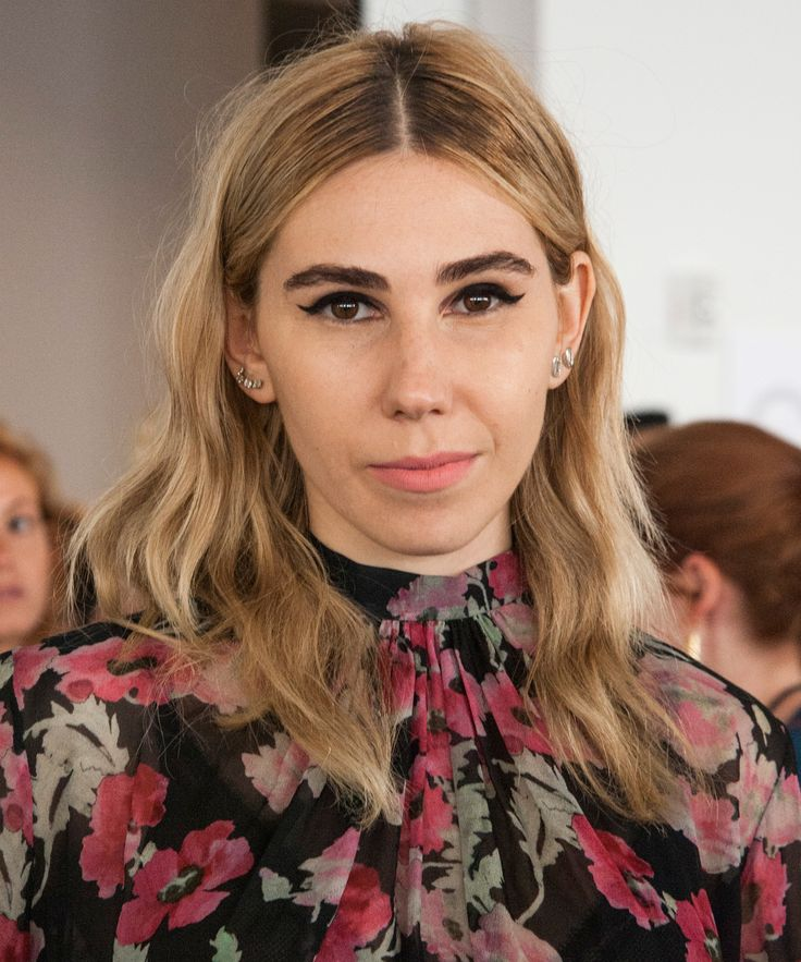 You NEED to See Zosia Mamet's Wedding Hair from InStyle.com