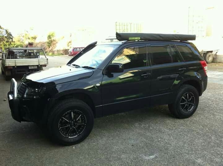 Grand nomade black, off road, lifted, bumper