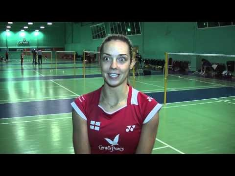 Gabby White is aiming to spring a surprise alongside Chris Adcock as the pair bid to qualify for this week's prestigious Yonex All-England Open Badminton Championships.
