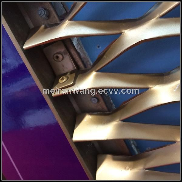 expanded metals for sunshade and building facade (HJ-E 1439 expanded metals for sunshade) - China Expanded Metal for sunshade;expanded me...