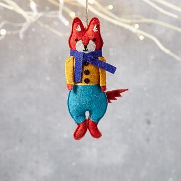 Mimi Kirchner Forest Animal Ornament - Boy Fox #westelm