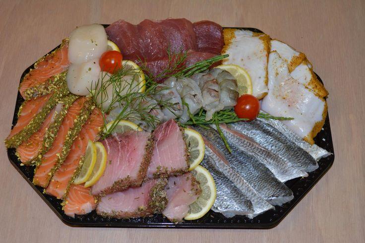 Vis schotel, fish dish