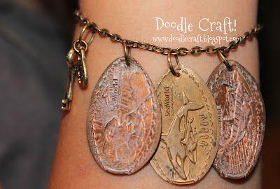 souvenir penny jewlery