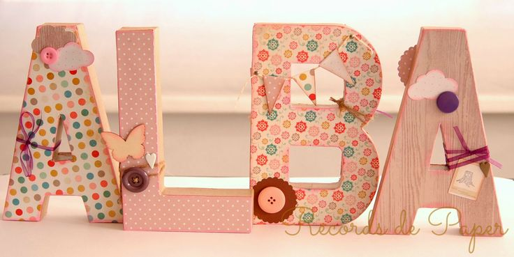 home decor, letras para habitación infantil, DIY decoradas