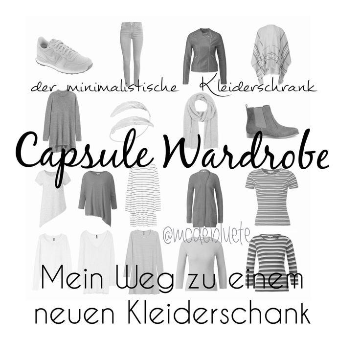 capsule wardrobe mein weg zu einem neuen stil kleiderschrank capsule garderoben dach. Black Bedroom Furniture Sets. Home Design Ideas