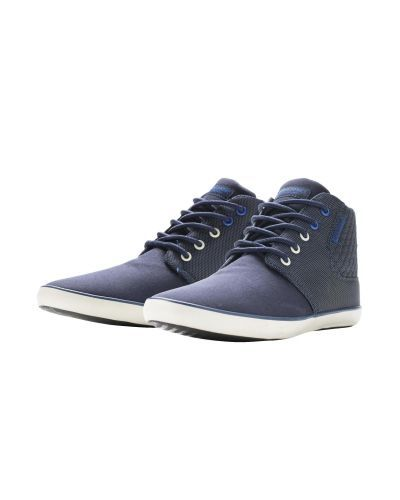 Jack & Jones Jjvertu Mixed Sneaker Navy Blazer High-Top Sneaker navy