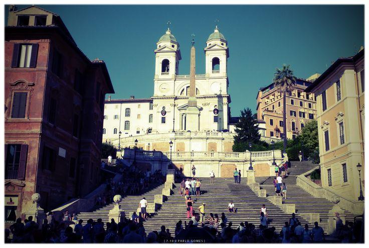 Scalinata di Spagna & Trinita dei Monti [2010 - Roma / Rome - Italia / Italy] #fotografia #fotografias #photography #foto #fotos #photo #photos #local #locais #locals #cidade #cidades #ciudad #ciudades #city #cities #europa #europe #turismo #tourism