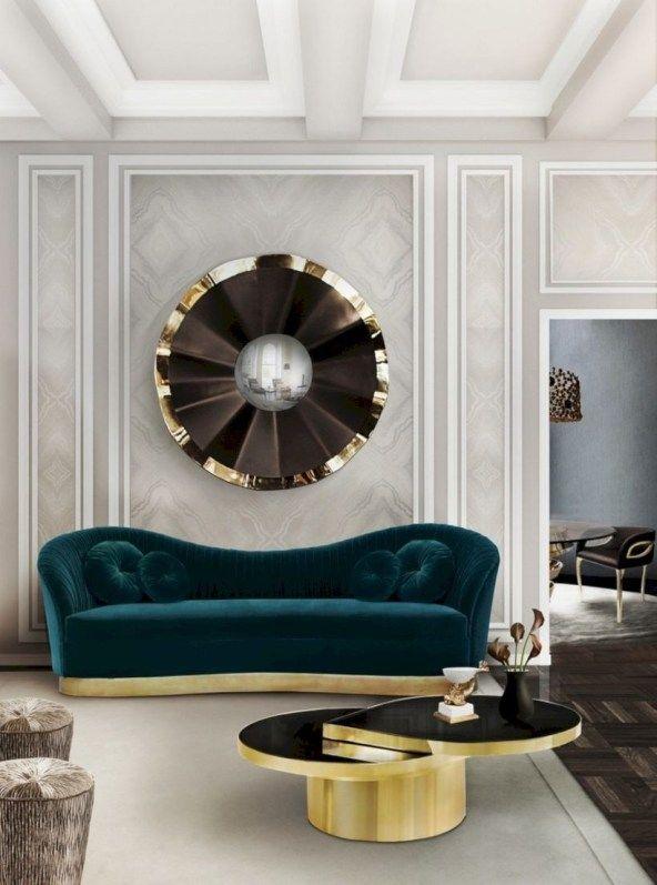 33 Beautiful Living Room Design Ideas With Mirror Matchness Com Sofa Decor Interior Design Living Room Living Room Modern Living room furniture and decor