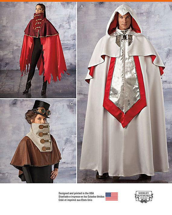 122 best Costume Patterns images on Pinterest | Costume patterns ...