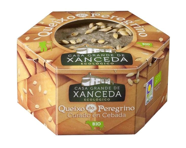 Queso Ecológico del Peregrino. Envejecido en Cebada. CASA GRANDE DE XANCEDA / Organic Cheese (aged in barley). CASA GRANDE DE XANCEDA