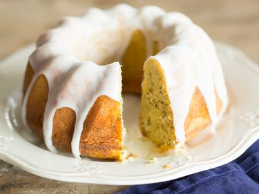 Zitronenkuchen mit Earl Grey