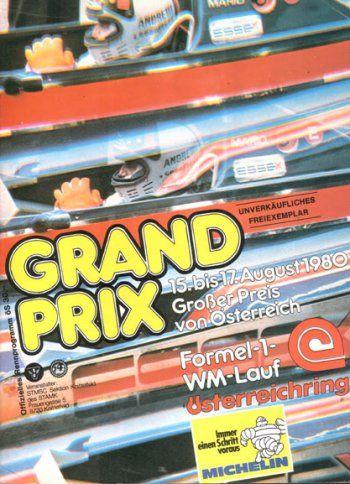 XVIII Grosser Preis von Osterreich, Osterreichring, 1980