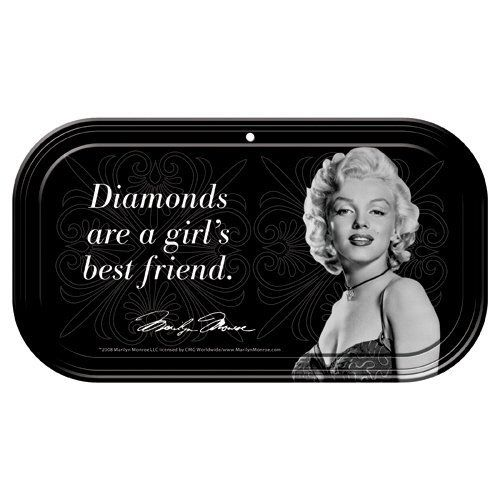 "Marilyn Monroe Magnetic ""Diamonds Are..."" Mini Tin by Vandor. $3.99"