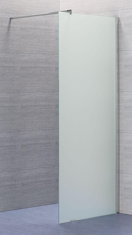 Lusso fast duschvägg med frostat glas | Alterna badrum