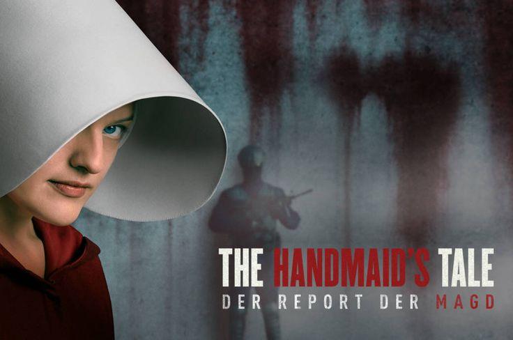 """Deutsche Serien-Fans dürfen sich freuen: """"The Handmaid's Tale – Der Report der Magd"""" läuft ab Herbst exklusiv auf EntertainTV."""