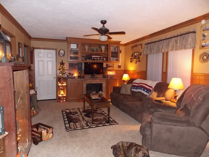 Pinterest discover and save creative ideas for Mobile home living room designs