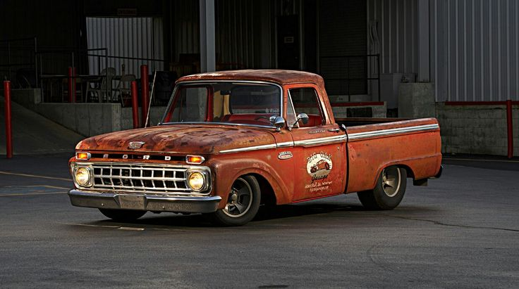 65 Ford F-100 shop truck