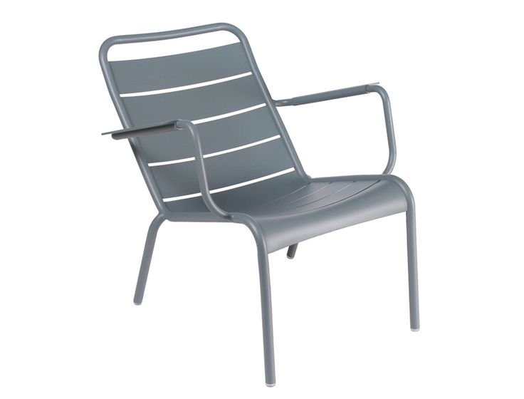 Fauteuil bas Luxembourg Gris orage