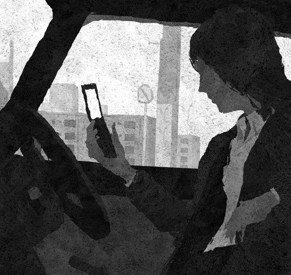 https://flic.kr/p/dvmUof | UNDER COVER 25.1 | 小学館「週刊ポスト」『アンダーカバー 秘密調査』(真保裕一/著) 挿絵