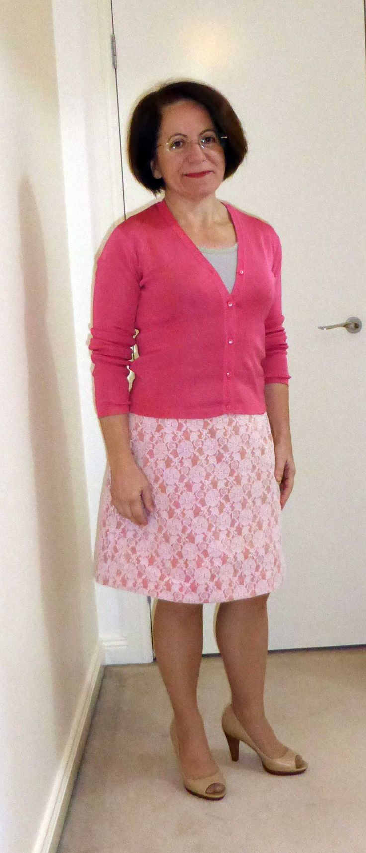 Pattern Review A-line lace skirt