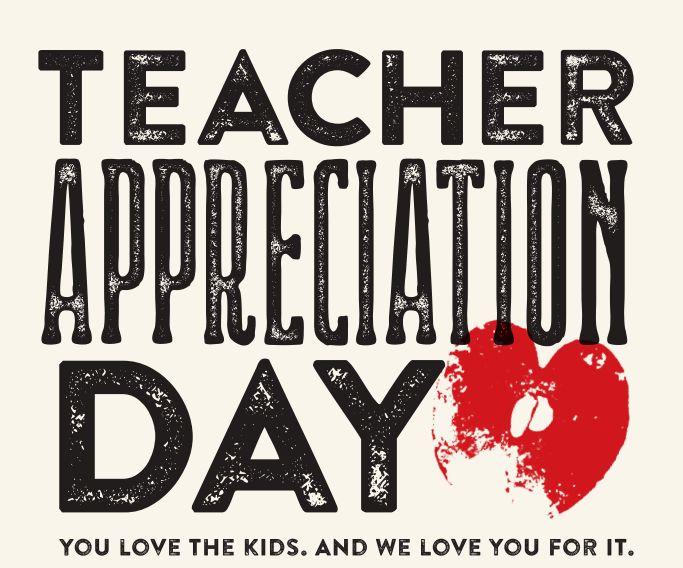 48 Best Images About Teacher Appreciation Day On Pinterest
