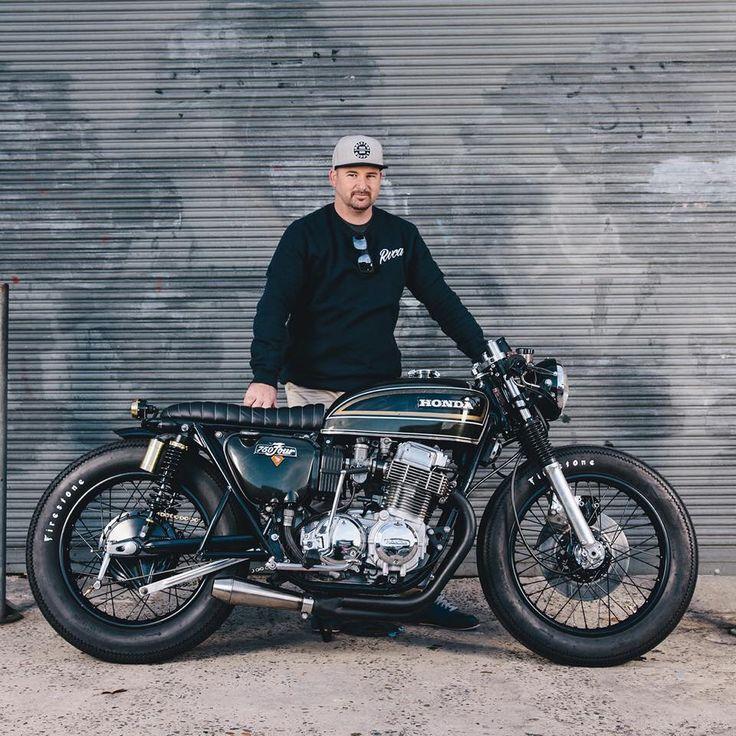 Honda CB750 by Adrian Leather