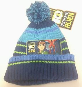 Cappellino blu bambino inverno taglia unica BEN 10 Cartoon Network | eBay