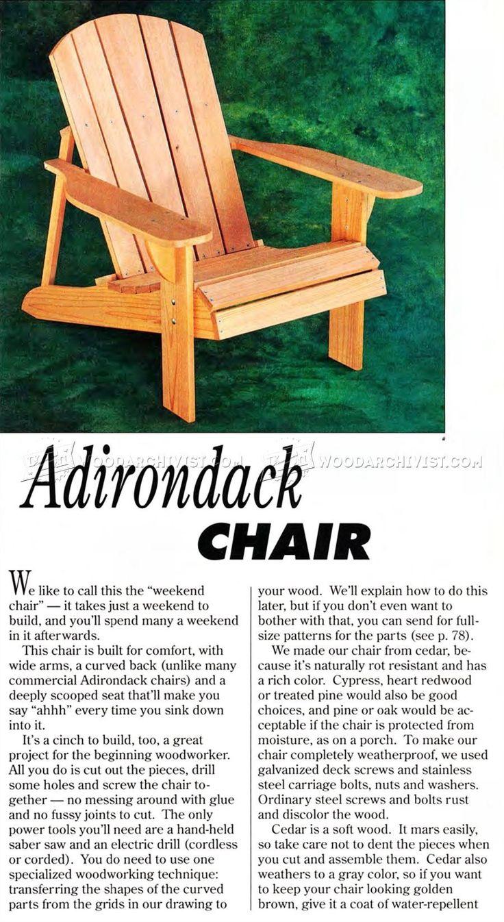 Best 25 adorondack chairs ideas on pinterest for Adirondack ottoman plans