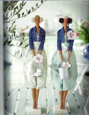 Tilda Varideer: Doll Patterns -exactly what I'm looking for!