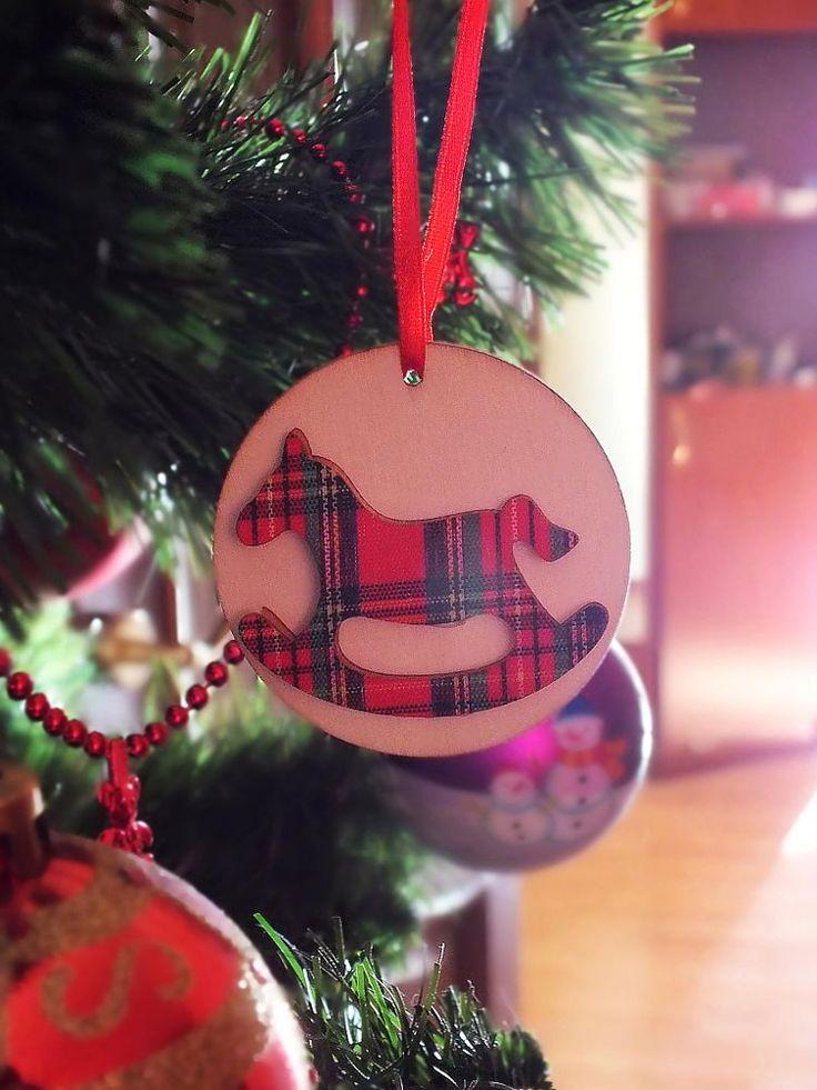 Tartan Christmas Ornament~