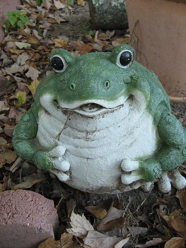 42 best FROGS images on Pinterest Frogs Garden statues and Cute
