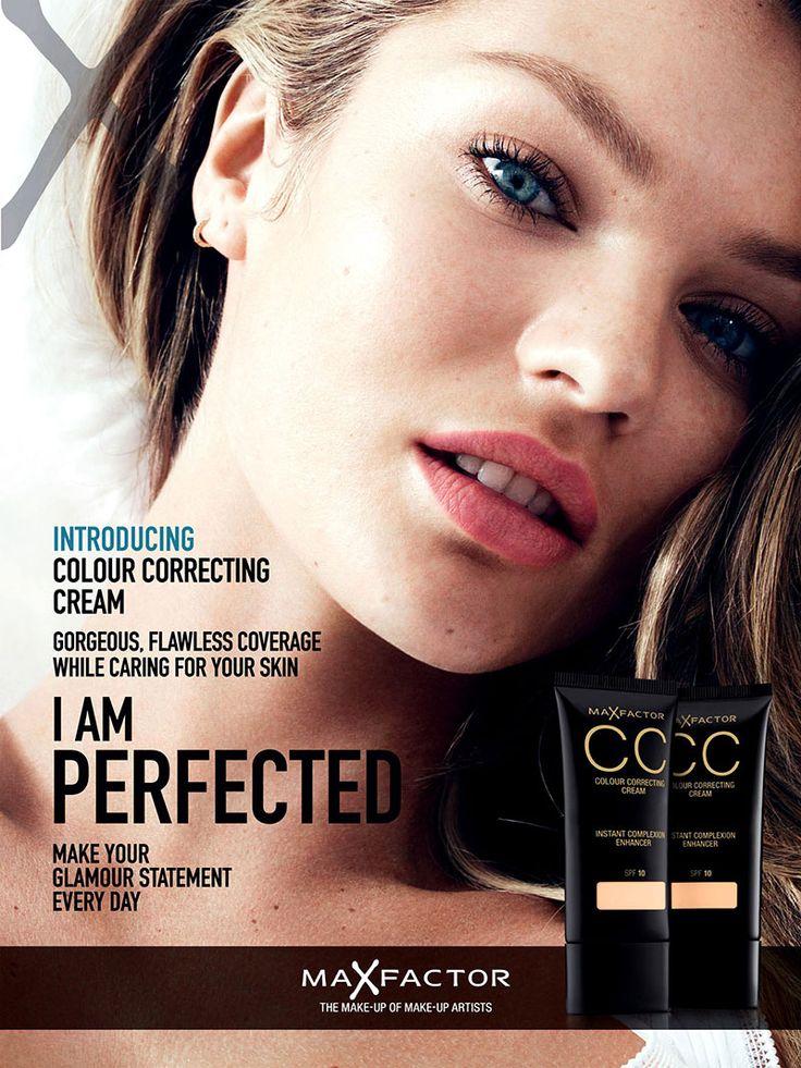Candice Swanepoel Max Factor Campaign