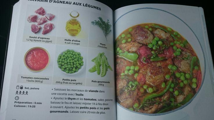 Navarin d'agneau aux légumes