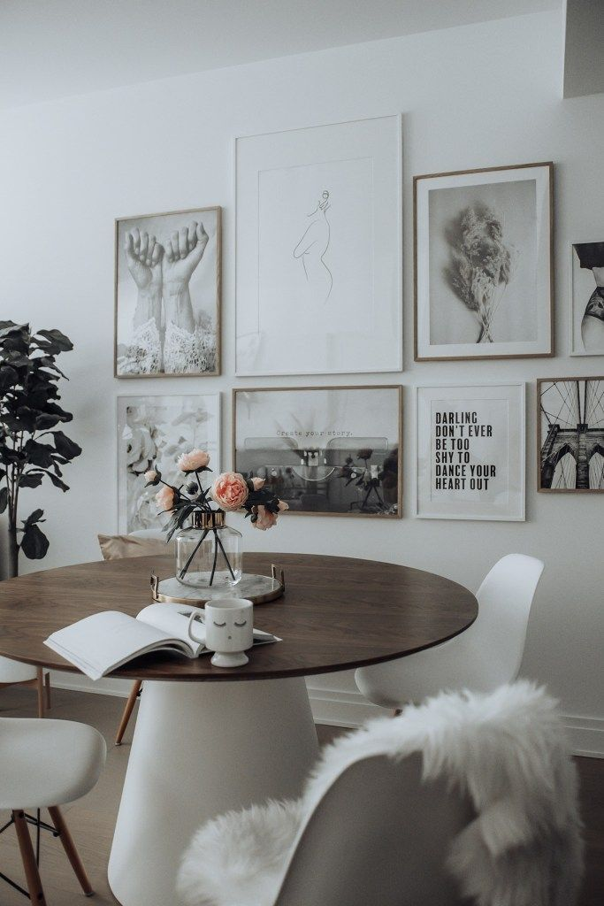 Dining Room Update With Desenio Dining Room Updates Dining Room Art Decor